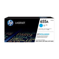 HP 655A Original LaserJet Toner Cartridge - Cyan (Single Pack) LaserJet Toner Cartridge