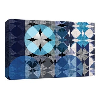 """PTM Images 9-148322  PTM Canvas Collection 8"""" x 10"""" - """"Modern Quilt"""" Giclee Abstract Art Print on Canvas"""