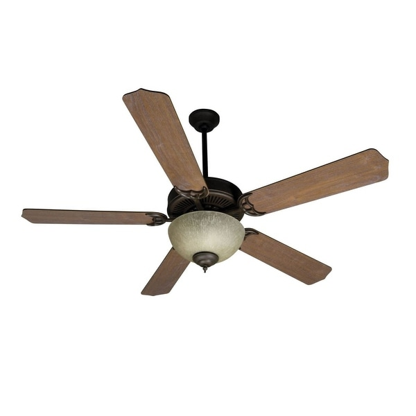 "Craftmade K10649 52"" 5 Blade Energy Star Indoor Ceiling Fan - Blades and Light Kit Included - Oiled Bronze"