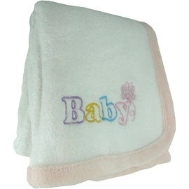 Baby Butterfly Blanket in Pink by Snugly Baby - 30.0 in. x 40.0 in.