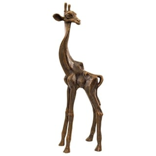Design Toscano The Graceful Giraffe Sculpture