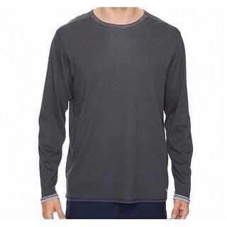 Tommy Bahama NEW Gray Mens Medium M Reversible Crewneck Tee T-Shirt