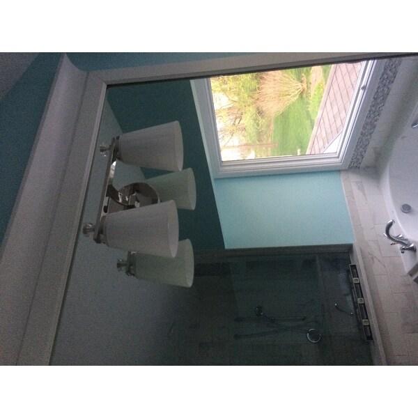 Capital Lighting Alisa Collection 2 Light Polished Nickel Bath Vanity Free Shipping Today 10603847