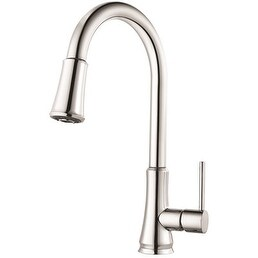 Price Pfister G529-Pfcc Price Pfister Pfirst Series Pull-Down Kitchen Faucet Polished Chrome 1.8 Gpm Lead Free