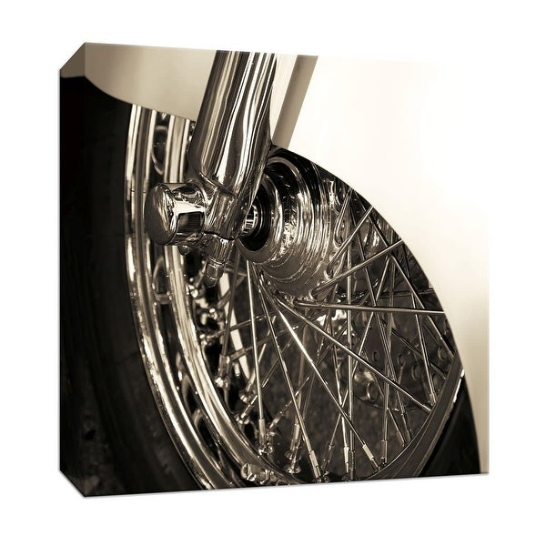 "PTM Images 9-147130 PTM Canvas Collection 12"" x 12"" - ""The Classics"" Giclee Motorcycles Art Print on Canvas"
