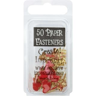 Painted Metal Paper Fasteners 50/Pkg-Hearts - Red, White & Pink|https://ak1.ostkcdn.com/images/products/is/images/direct/9ef61a818e7ae704e345e4e0e6aca93debdfccbc/Painted-Metal-Paper-Fasteners-50-Pkg-Hearts---Red%2C-White-%26-Pink.jpg?impolicy=medium