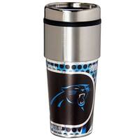 Great American Products Carolina Panthers Travel Tumbler Stainless Steel 16 oz. Travel Tumbler