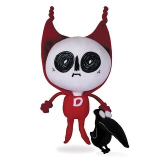 DC Comics Deadman and Crow Plush 2-Pack - multi