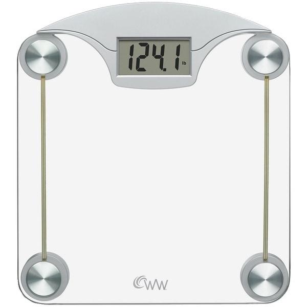Conair Ww39 Weight Watchers(R) Digital Glass & Chrome Scale
