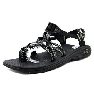 Chaco Zvolv x2 Women Open-Toe Synthetic Black Sport Sandal