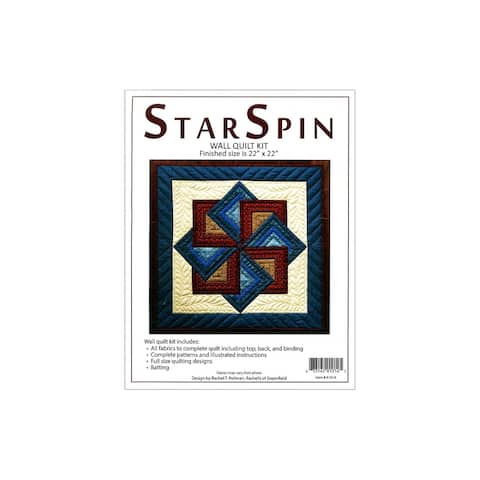 Rachel's Of Greenfield Kit Quilt StarSpin