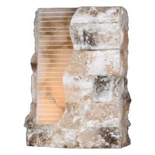 "Worldwide Lighting W238118 Pompeii Single Light 8"" Wide Wall Sconce - ADA Compli"
