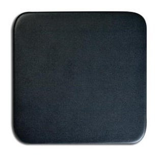 Dacasso A1053 Black Leather Square Coaster