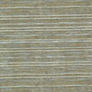 Brewster HZN43013 Horizon Green Stripe Texture Wallpaper