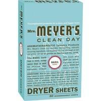 Mrs. Meyer's 80Ct Basil Dryer Sheets