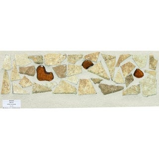 Mohawk Industries 15125 13 Inch Universal Ceramic Tile Decorative Accent - N/A