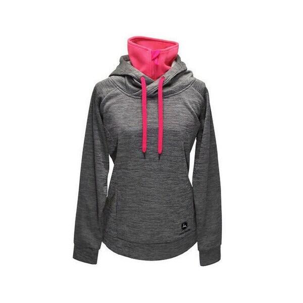 John Deere Western Sweatshirt Womens Hood Turtleneck Logo - S. Opens flyout.