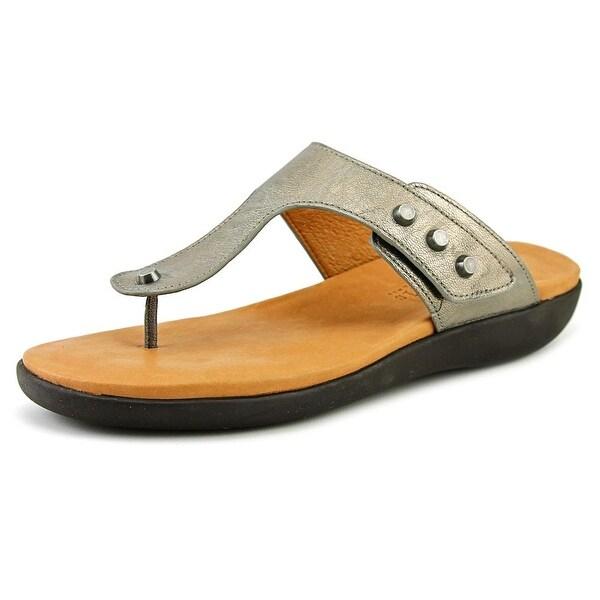 Gentle Souls Galaxy Women Open Toe Leather Thong Sandal
