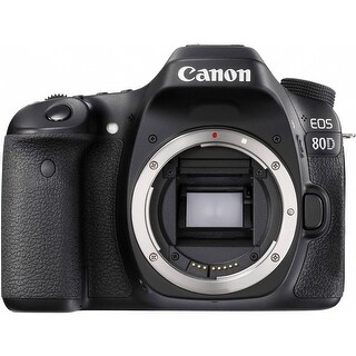 Canon EOS 80D DSLR Camera (Body Only) (International Model)