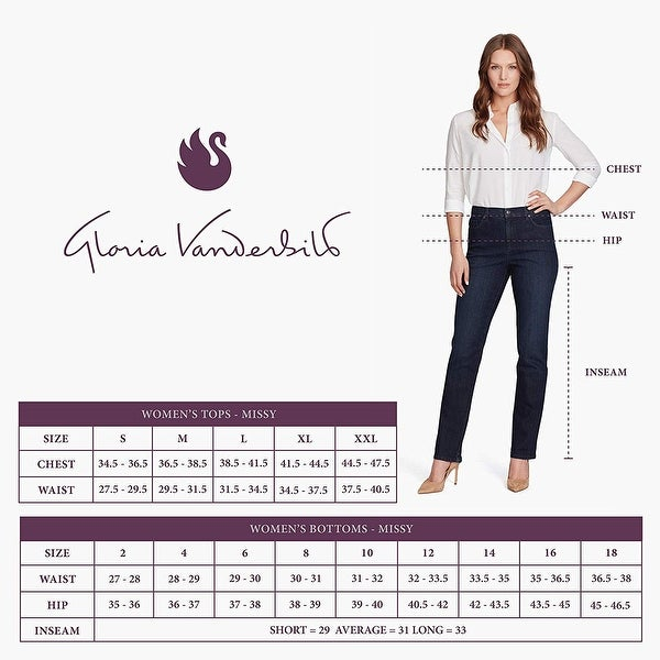 Gloria Vanderbilt Plus Size Amanda Capri