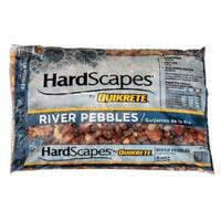 Quikrete 1175-15 River Pebbles Bag, 0.5 cubic feet