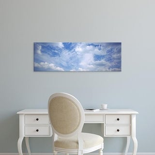Easy Art Prints Panoramic Images's 'Clouds in the sky, Binzenberg, Germany' Premium Canvas Art
