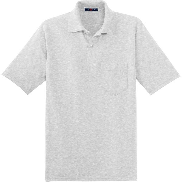 172f4440 Shop Jerzees 50/50 Pocket Sport Shirt With SpotShield, Oxford XL - X-Large  - Free Shipping On Orders Over $45 - Overstock - 22809707