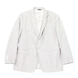 Tasso Elba NEW Gray Mens Size Medium M Two Button Notched-Lapel Blazer