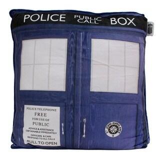 "Doctor Who TARDIS 15"" Cushion - Blue"
