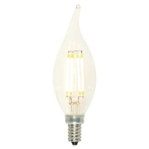 Westinghouse 5065100 Pack of (2) 4 Watt CA11 Candelabra (E12) LED - Clear