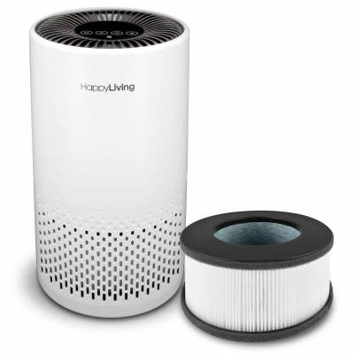 HEPA 4-Stage Filtration Air Purifier plus Extra Replacement Filter