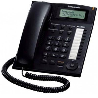 Panasonic Consumer Kx-Ts880b Single Line Phone W Dialer Sta