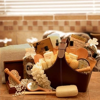Link to Spa Perfect Relax and Rejuvenate Tote Similar Items in Spa & Relaxation Baskets