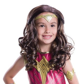 Wonder Woman Child Wig Costume Accessory