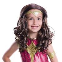 Wonder Woman Child Wig Costume Accessory