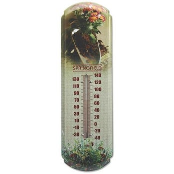 "Taylor 98219 Analog Thermometer, -40 TO 140 deg F, 17"""