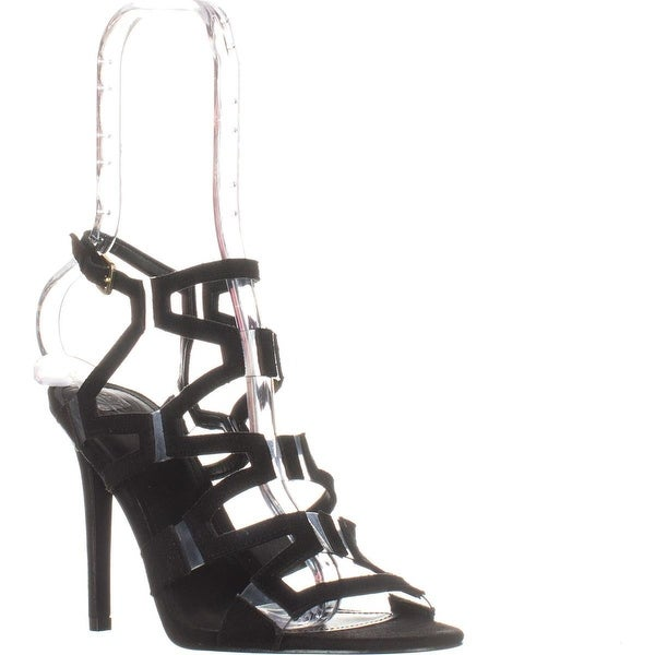 Guess Padton4 Heeled Sandals, Black