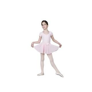 Sansha Pink Florinda Rhinestones Pull-on Dance Skirt 4-14