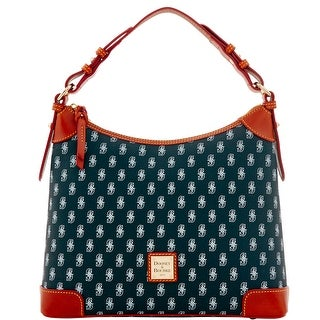 Dooney & Bourke MLB Mariners Hobo (Introduced by Dooney & Bourke at $218 in Feb 2015) - Black