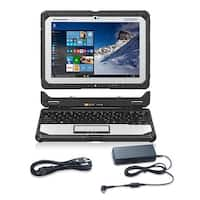 Panasonic CF-20C5-02VM with AC Adapter 10.1- Inch Semi-Rugged Tablet