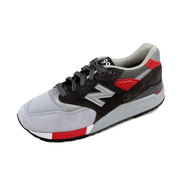 New Balance Men's 998 Grey/Red Age Of Exploration M998CPL