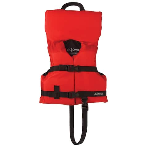 Onyx nylon infant/child life jacket red 103000-100-000-12
