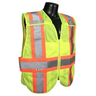 Radians SV24-2ZGM-3X/5X Expandable Two Tone Safety Vest