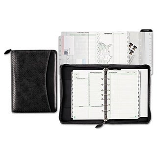 Woven Look Starter Set Organizer, Simulated Leather, 5 .5
