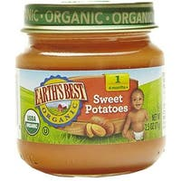 Earth's Best - Organic Sweet Potatoes ( 12 - 4 OZ)