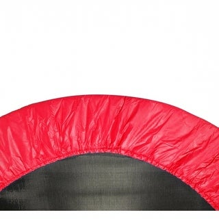 Upper Bounce UBPAD-40-R 40 in. Round Trampoline Safety Pad - Spring Cover for 6 Legs - Red
