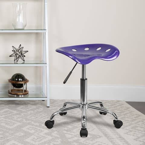 Vibrant Colored Tractor Stool