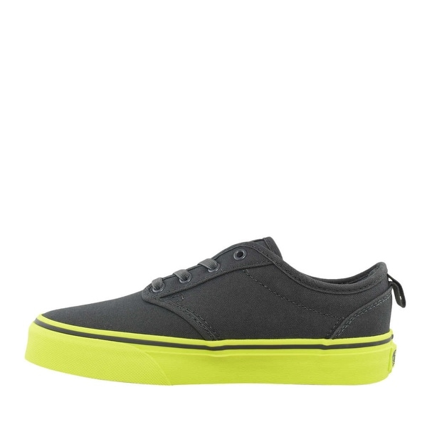 0b684792e5 Vans Boys ATWOOD SLIP ON Canvas Low Top Lace Up Bowling Shoes - u.s.  toddler 7.5