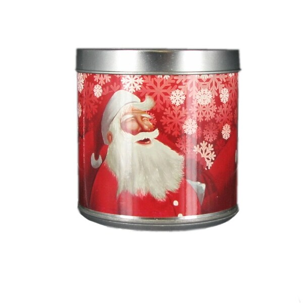 Scented Christmas Musical Jar Candle Santa's Cookies