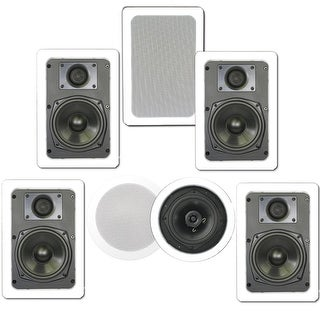 In Wall Home Theater Speakers in wall/in ceiling speakers - shop the best deals for sep 2017